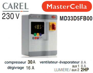 Coffret électrique MasterCella MD33D5FB00 de  Carel