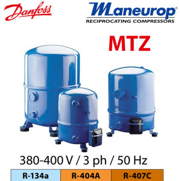 Compresseur Danfoss - Maneurop MTZ 125-4VI