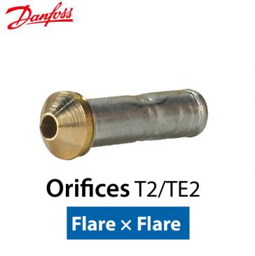 Orifice pour détendeur T 2/TE 2 Flare nº 04 Code 068-2007 Danfoss