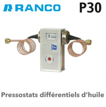 Pressostat différentiel d'huile P-30-3701 Ranco