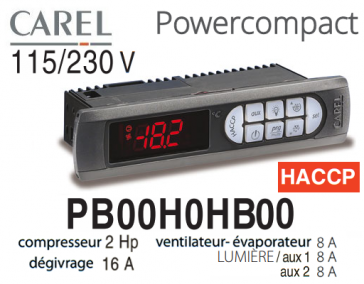 Régulateur Power Compact PB00H0HB00 de Carel