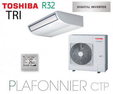 Toshiba Plafonnier CTP Digital Inverter RAV-RM1401CTP-E triphasé