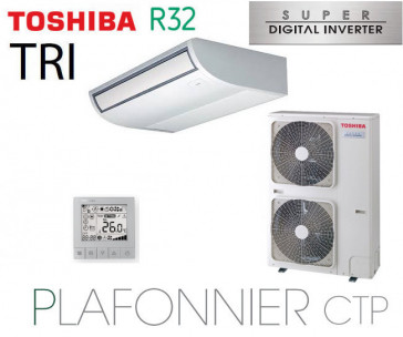 Toshiba Plafonnier CTP Super Digital Inverter RAV-RM1101CTP-E triphasé