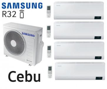 Samsung Cebu Quadri-Split AJ080TXJ4KG + 3 AR07TXFYAWKN + 1 AR12TXFYAWKN