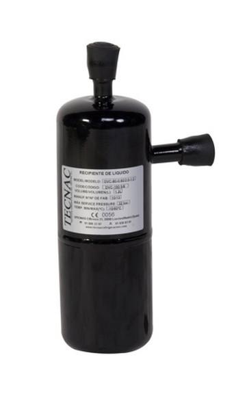 Reservoirs de liquide verticaux 30 Bars avec raccordements de cuivre