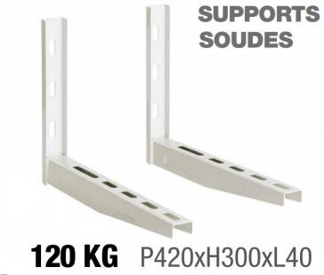 Supports muraux soudés 420 x 300 - 120kg
