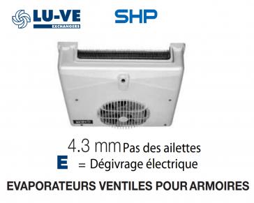 Evaporateur pour armoire SHP 9 E de LU-VE - 580 W