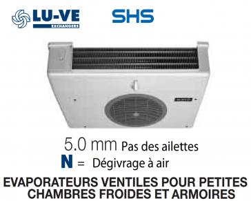 Evaporateur pour armoires et petites chambres SHS 32N de LU-VE - 2290 W