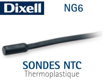 Sonde de température NTC - NG6 - 1,5 m de Dixell