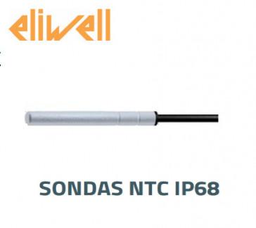 """Sonde NTC - IP68  """"Eliwell"""" noir 3 m - SN8T6N3002"""