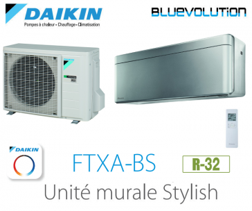 Daikin Stylish FTXA42BS - R-32 - WIFI inclus