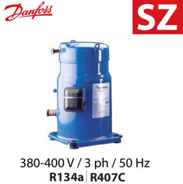 Compresseur DANFOSS hermétique SCROLL SZ 160-4RAI - SZ160T4RC