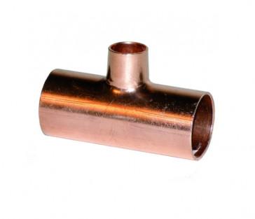 Té réducteur en cuivre