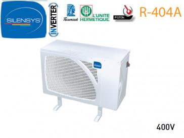 Groupe Caréné SILENSYS Inverter de L'Unité hermétique R 404A - SIL AGV 4546Z