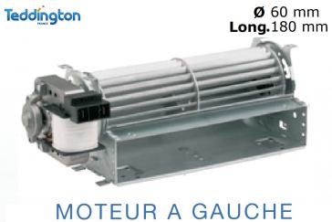 Ventilateur tangentiel VT60-180 de Teddington