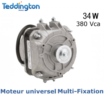 Moteur universel Multi-Fixation TF M34W 380V de Teddington