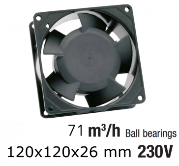 Ventilateur axial compact TF MC 12025HB