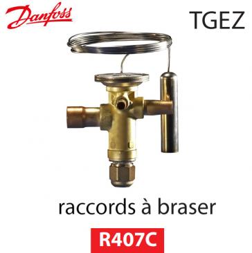 Détendeur thermostatique TGEZ 15 - 067N4011 - R407C Danfoss