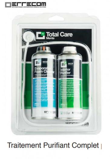 Traitement purifiant complet pour systèmes de climatisation TOTAL CARE
