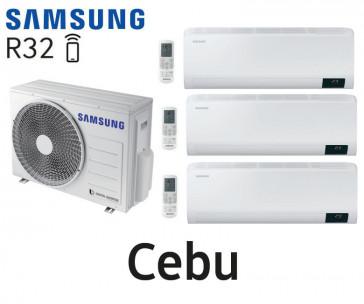 Samsung Cebu Tri-Split AJ052TXJ3KG + 3 AR07TXFYAWKNEU