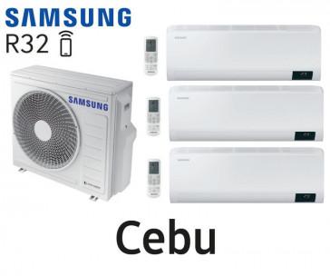 Samsung Cebu Tri-Split AJ068TXJ3KG + 2 AR07TXFYAWKN + 1 AR12TXFYAWKN
