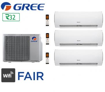 GREE Tri-split FAIR FM 28 + 2 Fair 9 + 1 Fair 12