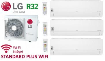 LG Tri-Split STANDARD PLUS WIFI MU3R21.U21 + 2 X PM05SP.NSJ + 1 x PC12SQ.NSJ - R32