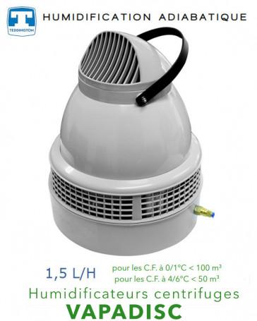 Humidificateur centrifuge 1,5 L/H -  VAPADISC 707MAX de Teddington
