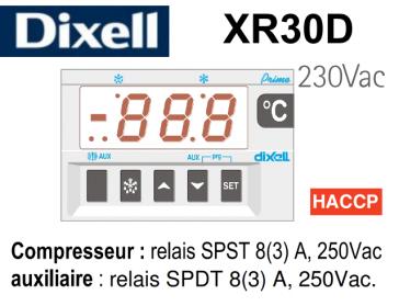 Régulateur digital XR30D-5P0C0 de Dixell
