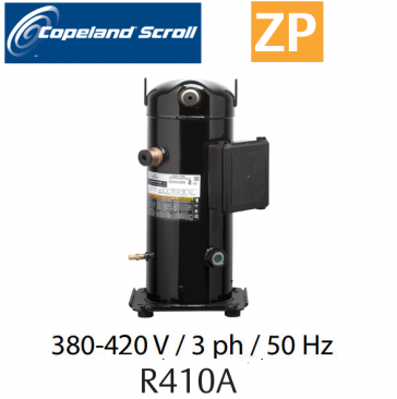 Compresseur COPELAND hermétique SCROLL ZP90 KCE-TFD-455