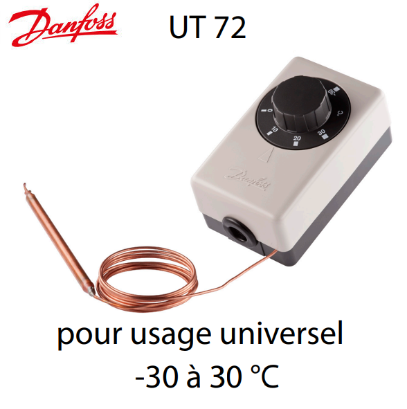 Thermostat pour usage universel UT 72 Danfoss on