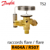 Détendeur thermostatique TS 2 - 068Z3400 - R404A/R507 Danfoss