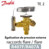 Détendeur thermostatique TE 2 - 068Z3714 - R407A, R407F