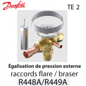 Détendeur thermostatique TE 2 - 068Z3734 - R448A, R449A