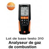 Testo 310 - Analyseur de combustion - Lot de base
