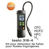Testo 316-4 - Détecteur de fuite de réfrigérant