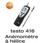 Testo 416 - Anémomètre compact  avec sonde à hélice télescopique