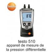 Testo 510 - Appareil de mesure de pression différentielle