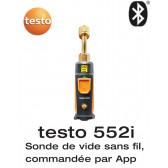 Testo 552i - Sonde de vide sans fil, commandée par App