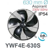 Ventilateur axial YWF4E-630S de AREA