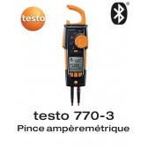 Testo 770-3 - Pince ampèremétrique TRMS avec Bluetooth