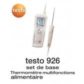 Testo 926 - Thermomètre à sonde interchangeable - set de base