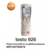 Testo 926 - Thermomètre à sonde interchangeable