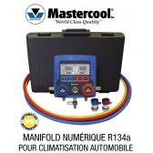 Kit de Manifold numérique complet R134a de Mastercool