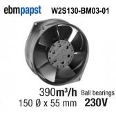 Ventilateur Axial W2S130-BM03-01 de EBM-PAPST