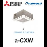 Ventilo-convecteur Cassette 4 voies a-CXW 2T 1202 + VANNE À 3 VOIES