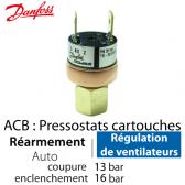 Pressostat Cartouche ACB-2UA305W - 061F8333 Danfoss