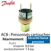 Pressostat Cartouche ACB-2UA520W - 061F7520 Danfoss