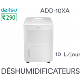 Déshumidificateur digital DAITSU DEHUMIDIFIER ADD-10XA