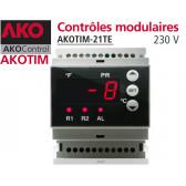 Contrôles modulaires AKOTIM-21TE avec 1 sonde NTC